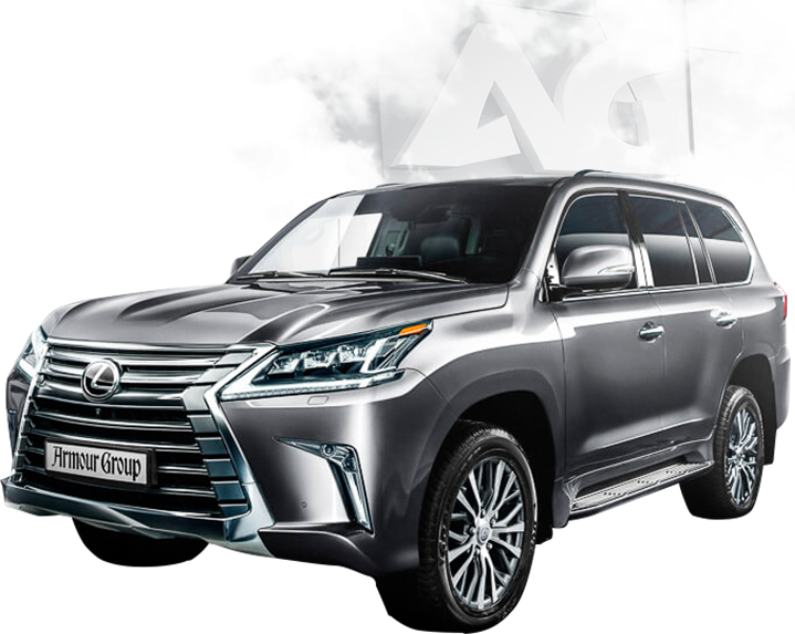 Armored Lexus: production and sale by Armor Group